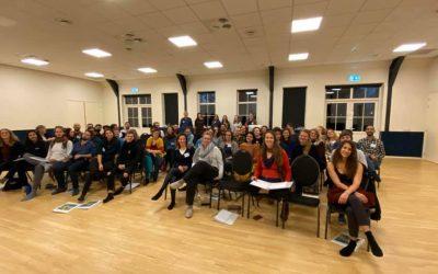 Practicing coaching w Olde Vechte Foundation w Holandii