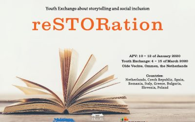 Restoration. Youth Exchange about storytelling and social inclusion.